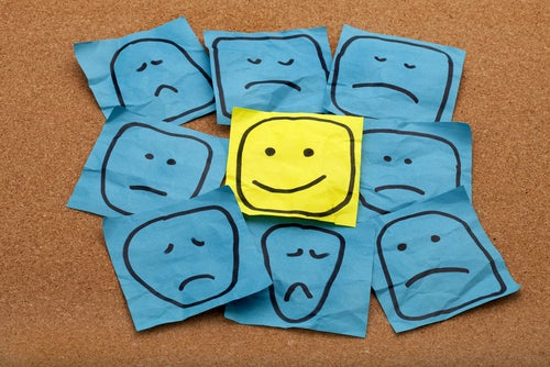 긍정적인 태도 유지하기