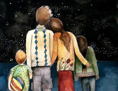 가족은 최고의 보물이다