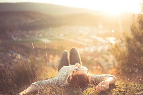 휴식의 정신적 이익