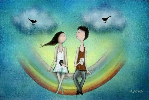 있는 그대로의 나를 사랑하는 사람과 함께 하라