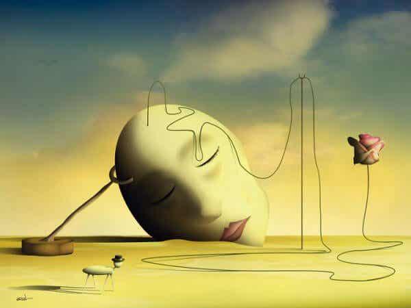 생각은 파괴적이지만, 치유도 한다