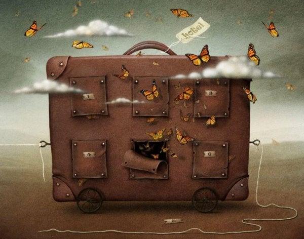 짐가방의 크기는 애정의 크기다