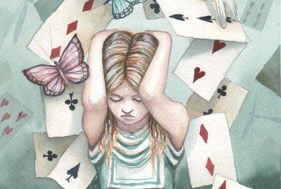 카드의 탑 위에 세운 듯한, 불안한 삶