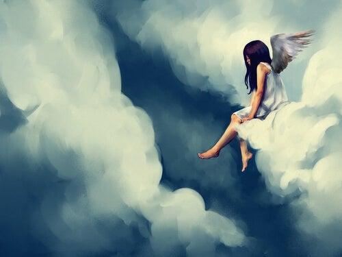 구름 속 천사 (누구에게나 우울한 날이 있다)
