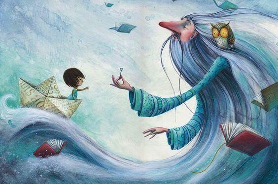 동화 속 아이: 따뜻한 말의 중요성