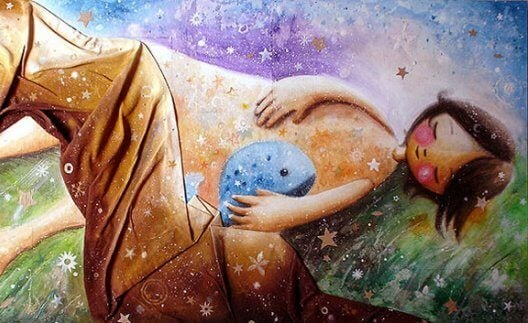 꿈 꾸는 아이: 따뜻한 말의 중요성