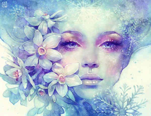 꽃과 여자: 칭찬은 우리를 끌어 내리려 위협하는 바람과도 같다
