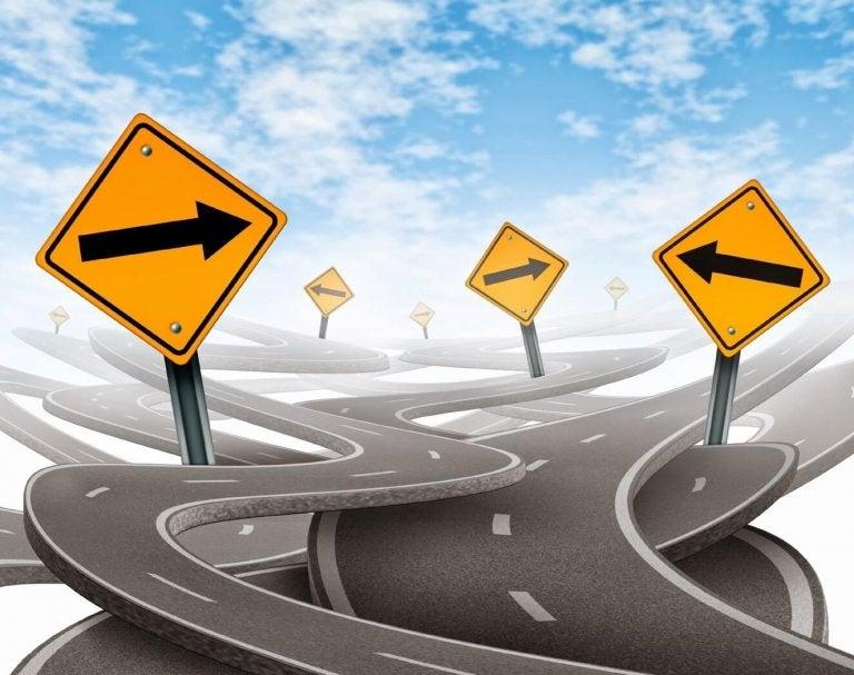 불확실성: 화살표 방향