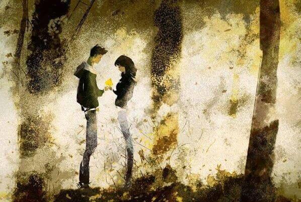 사랑하면 고통 받을 것이고, 사랑하지 않으면 아플 것이다