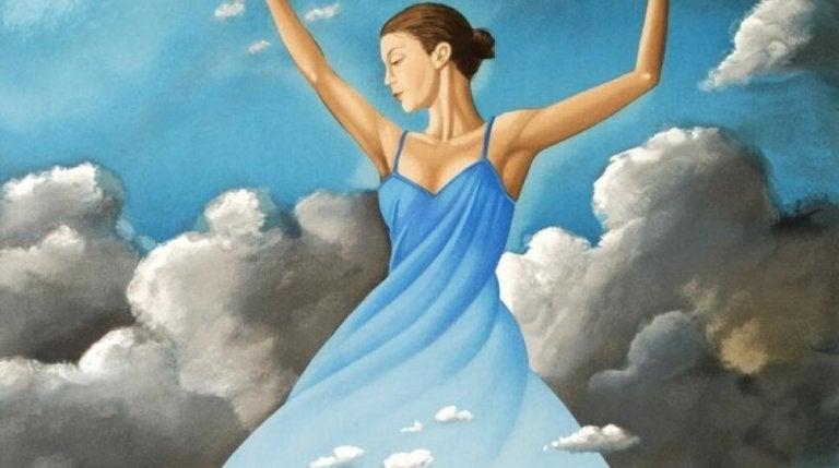 춤추는 여자