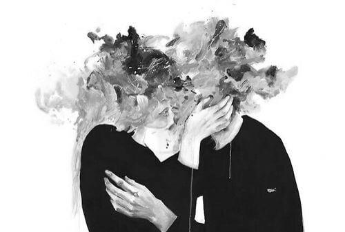 열정적인 키스