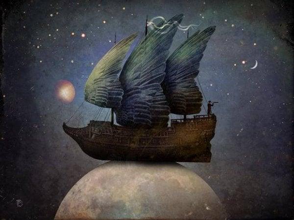작별을 고하자: 달 위의 배