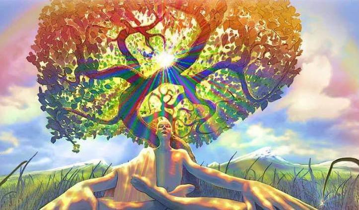 나무 아래 명상
