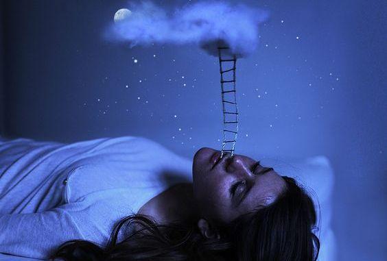 자고 있는 여자