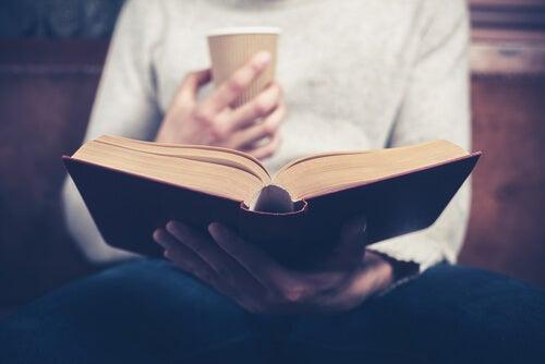 독서와 커피