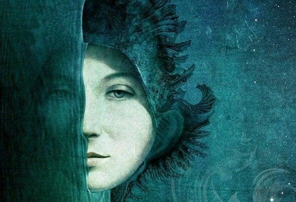 어둠 속의 여자