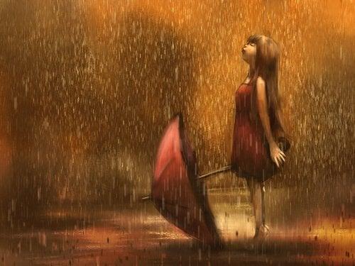 빗 속의 소녀: 장수의 비밀