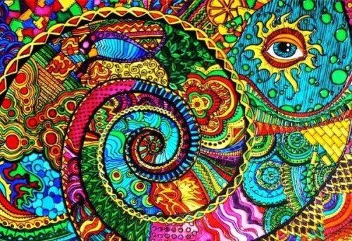다채로운 눈 그림: 모든 것을 가져서 부족함을 모를 때