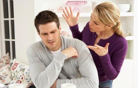 커플 간의 언어적 폭력