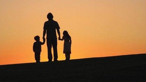 이혼한 가정의 아이들의 경험