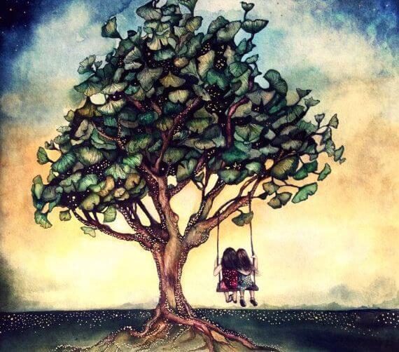 우정 나무