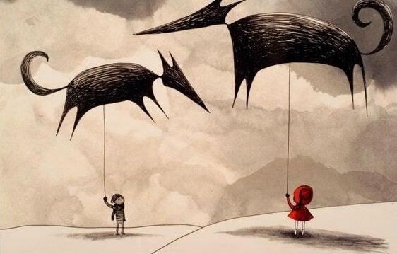 관점 바꾸기: 타인의 삶에서 늑대 역할인가?