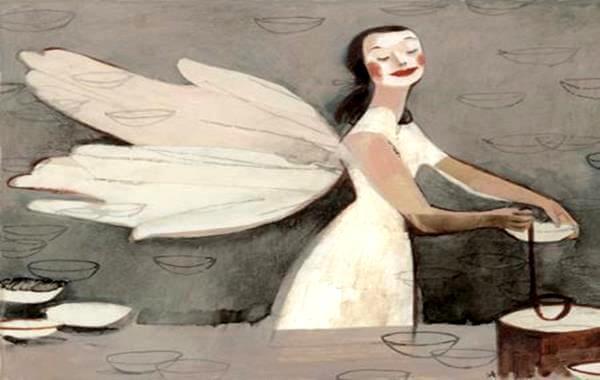 날개가 달린 여자