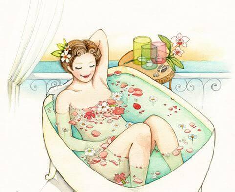 네몸을 사랑해라: 초록색 수영복을 입은 소녀에게