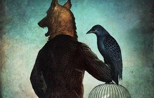 늑대와 까마귀
