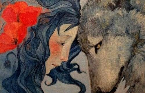 여자와 늑대