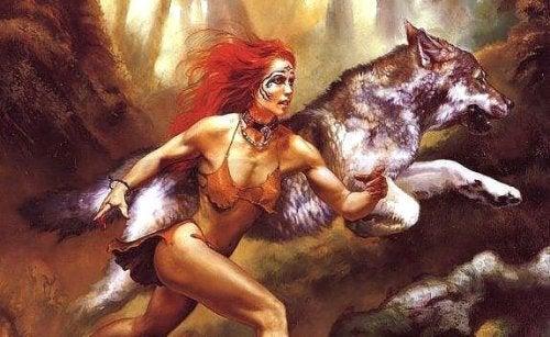 모든 여성의 안에는 늑대가 있다