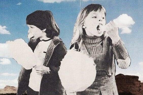 아이들 솜사탕