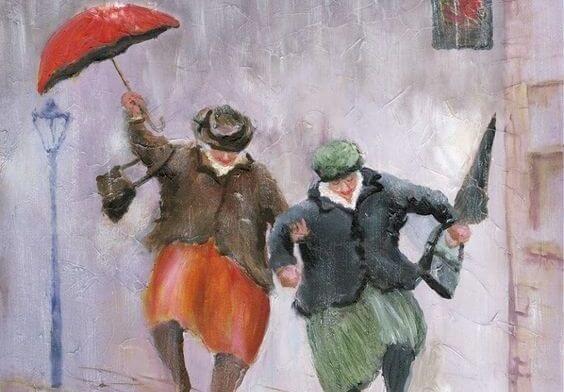 빗 속에서 춤추기