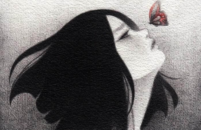 소녀 나비: 존재하는 가장 큰 강인함은 회복력이 있는 영혼이다