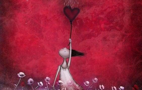 구름 밑 하트를 잡은 소녀: 사랑에 관한 중국 속담 5가지