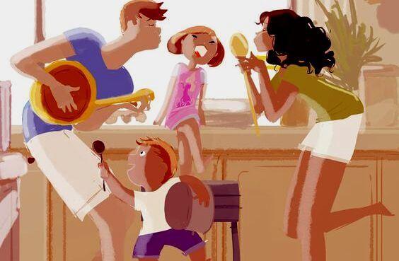 풍요로운 가정의 특징: 소리내고, 사과하고, 포옹한다