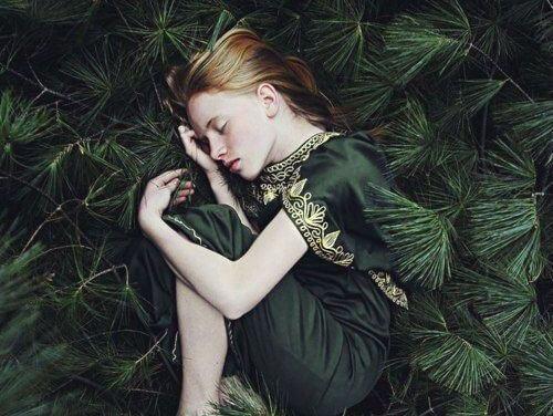 자연과 소녀