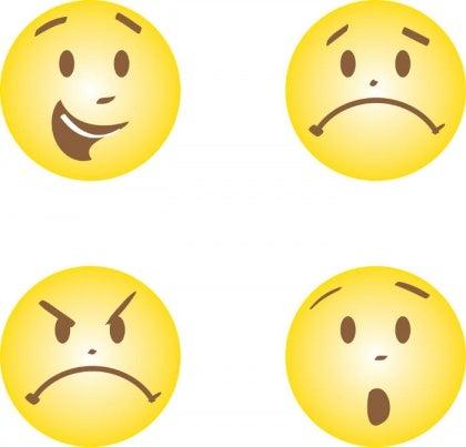 행복 슬픔 분노 두려움