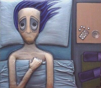 밤중 불안 장애를 겪고 있는가?