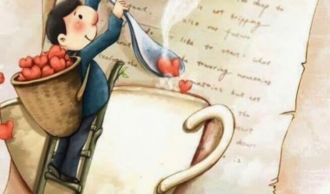 남자와 커피