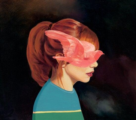 빨간머리 여자 비둘기