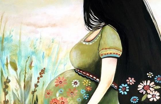 얼굴도 모르는 아이를 사랑한다는 것: 임신