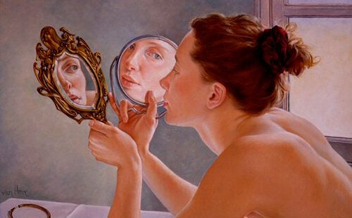 거울 여자