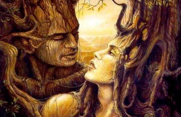 커플-나무