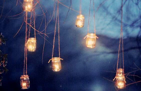 매달린 등불