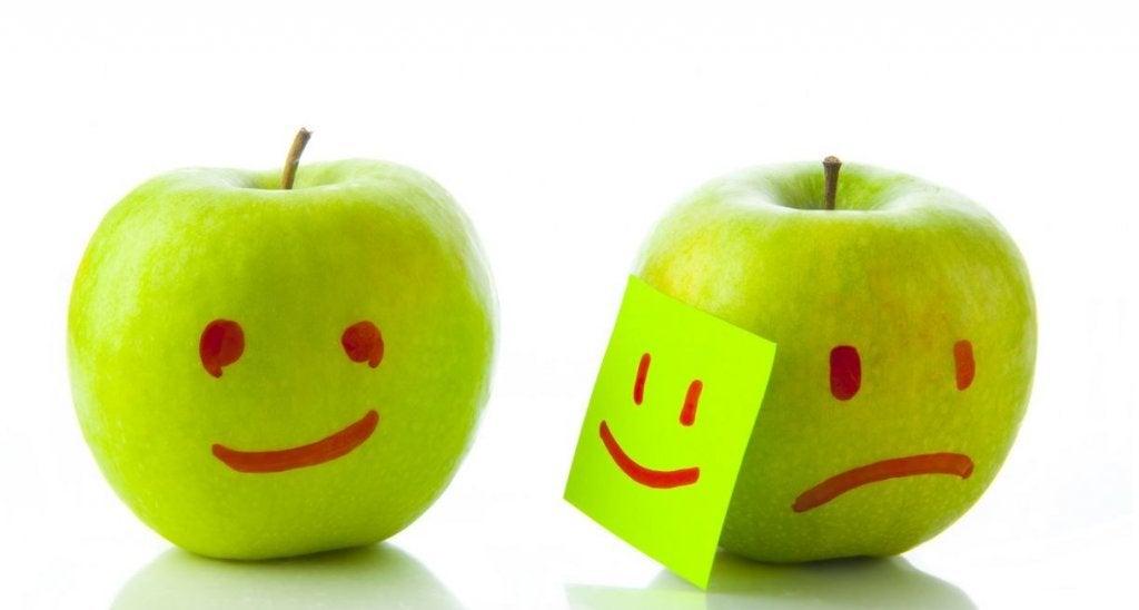 행복하고 슬픈 사과