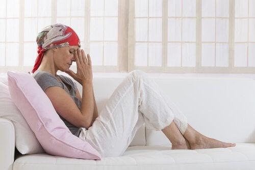암투병에 있어서의 정신 건강의 영향