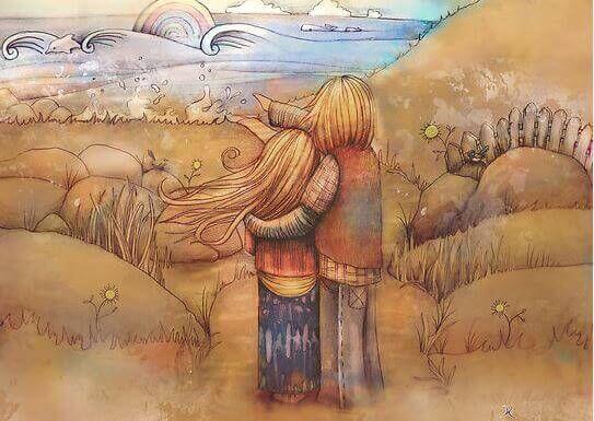 다른 사람이 우리에게 사랑을 표현할 때 감사하기