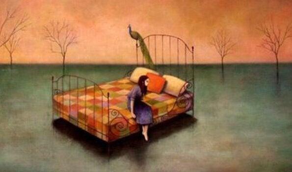 가끔 사람들이 피곤하다고 말할 때 사실은 슬픈 것일 때도 있다