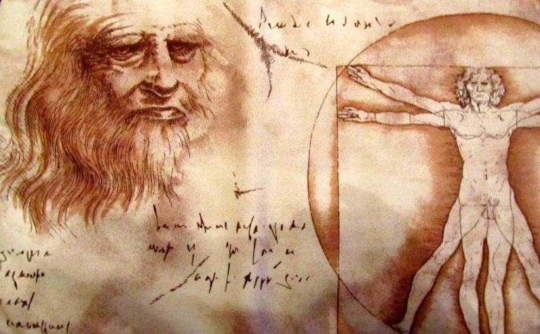 레오나르도 다빈치 초상화와 육체도
